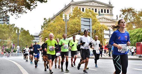 Race Report Frankfurt Marathon 2018