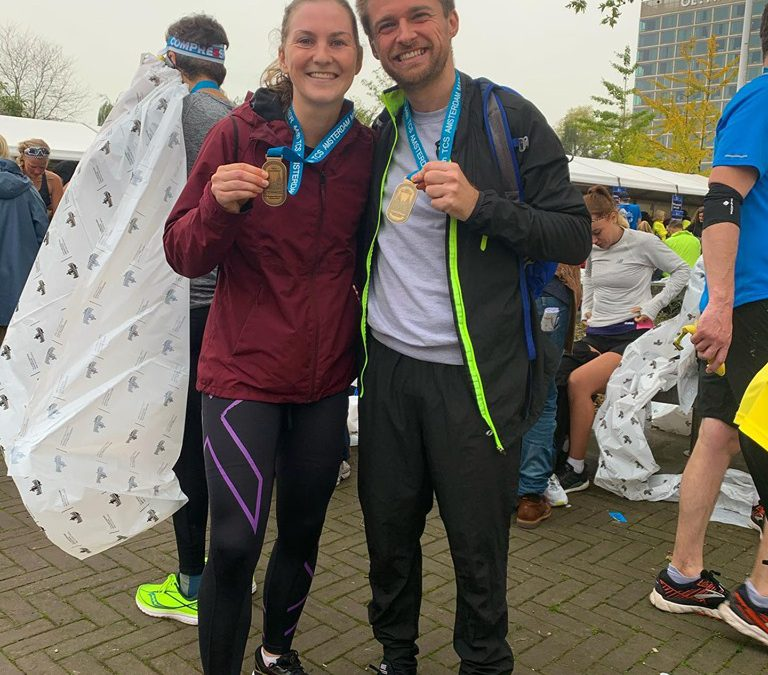 Race Report Amsterdam Marathon