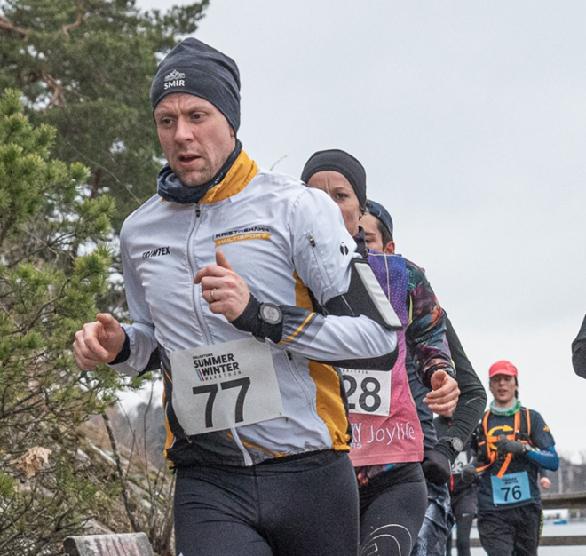 Andreas Ahlin: Sollentuna Summer Winter Marathon