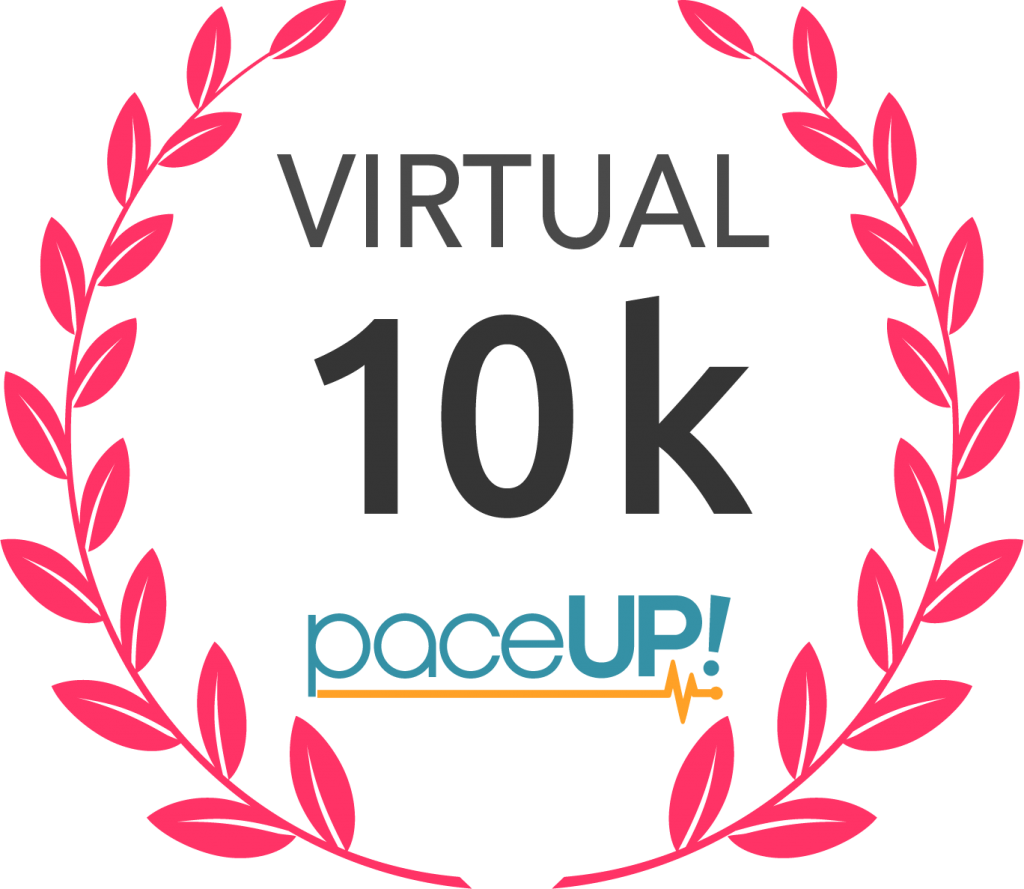 PaceUp Virtual 10 k