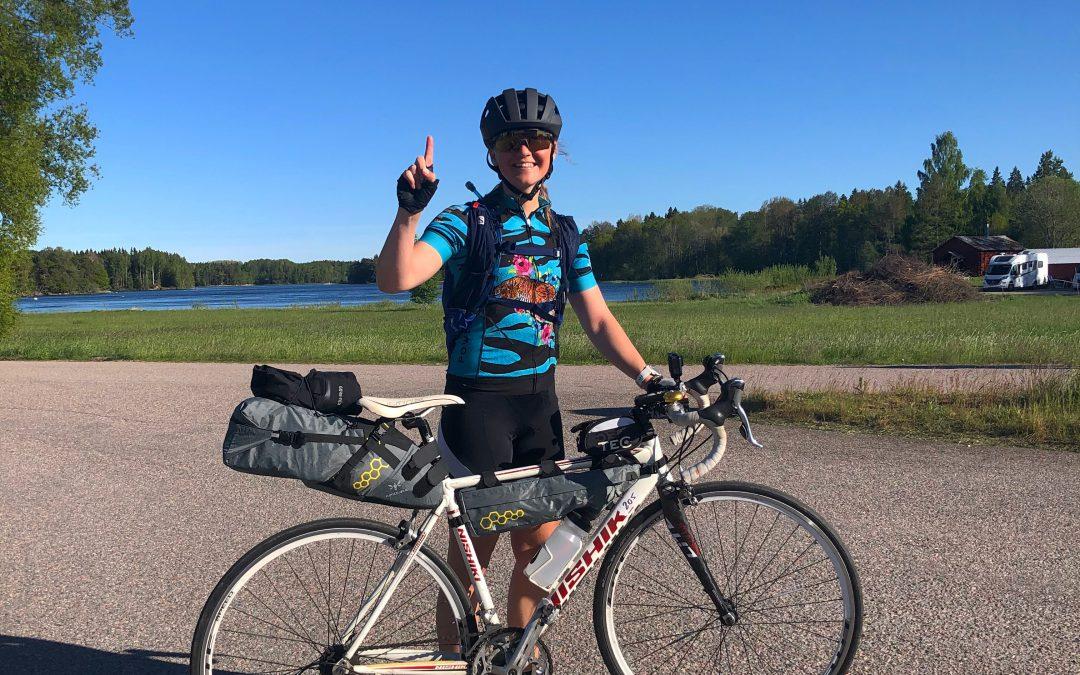 Cykeläventyret från Stockholm till Jämtland