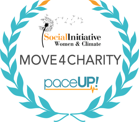 PaceUp Move4Charity Social Initiative Women and Climate