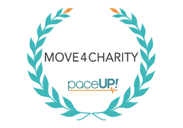PaceUp Move4Charity - logo