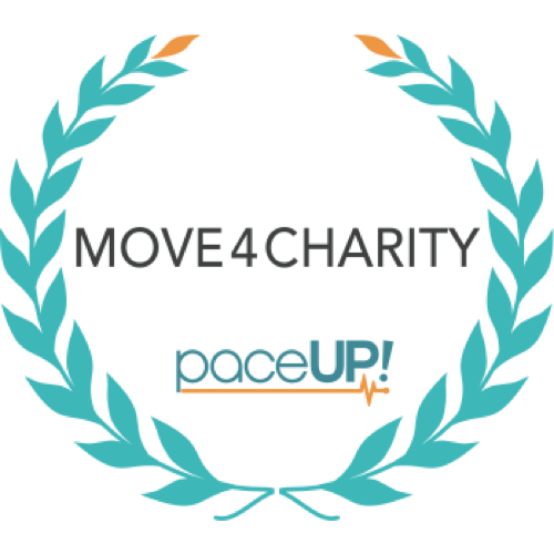 PaceUp Move4Charity logo