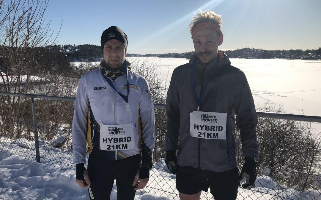 Andreas Ahlin: Edsviken Marathon Winter